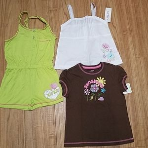 Clothing lot 3 pieces size 4T